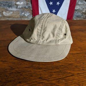 LL Bean T818 Brown Cap Hat Union Made Baseball